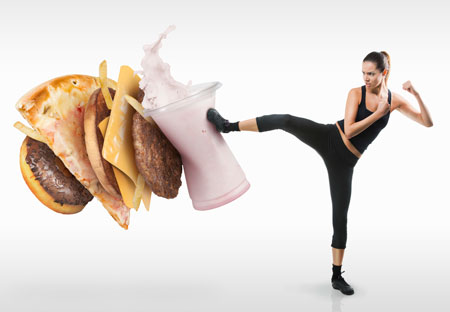 Как составить диету для похудения самостоятельно
