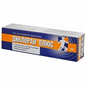 Диклоран плюс 30,0 гель – цена 238 руб., купить в интернет аптеке в томске диклоран плюс 30,0 гель, инструкция по применению, отзывы