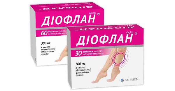 Диофлан таблетки, инструкция по применению