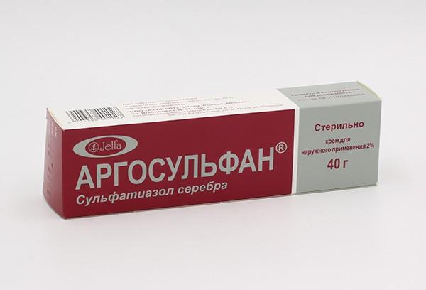 Крем аргосульфан