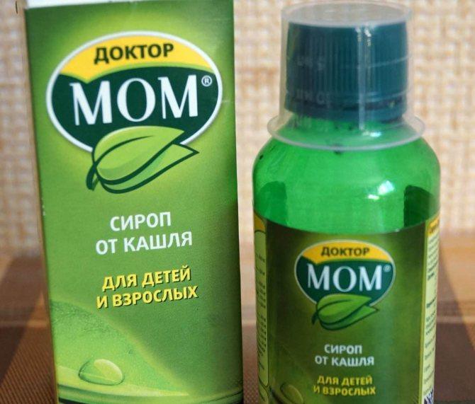 Инструкция препарата доктор мом от кашля