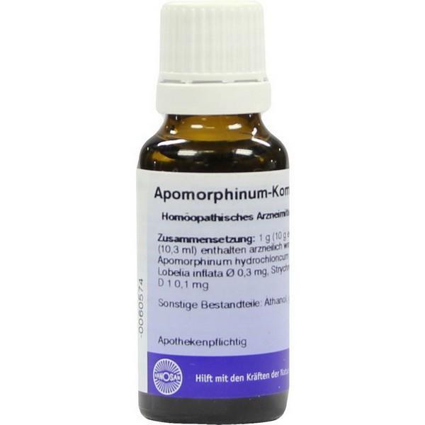 Апоморфин (ароmorphinum), инструкция по применению