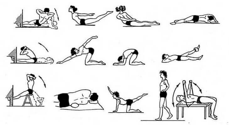 Лфк при грудном сколиозе: виды, примеры комплексов упражнений