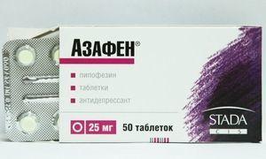 Азафен: инструкция по применению, цена, отзывы пациентов и врачей