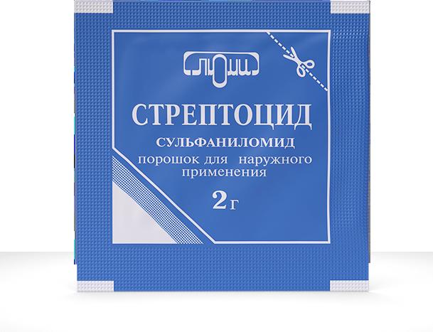 Стрептоцид растворимый линимент - инструкция по применению