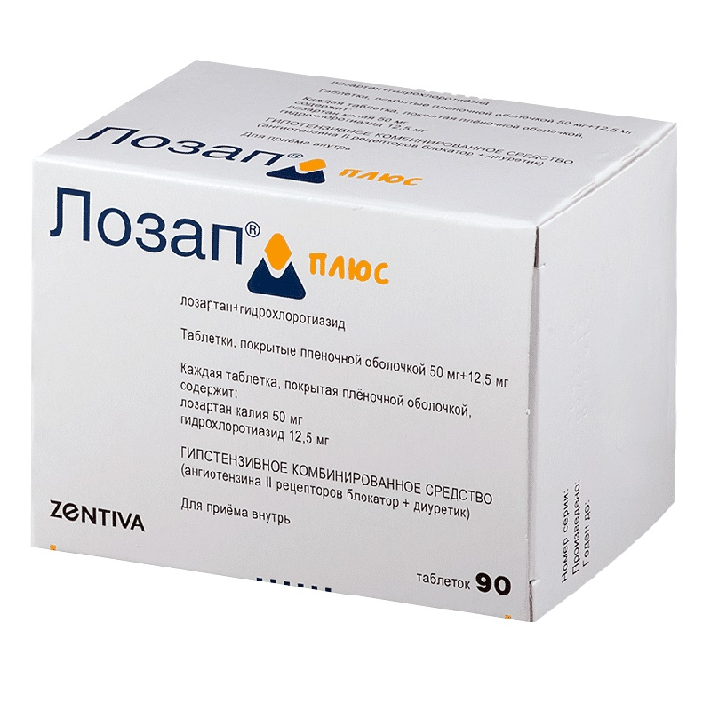 Лозап: инструкция и рекомендации по приему препарата
