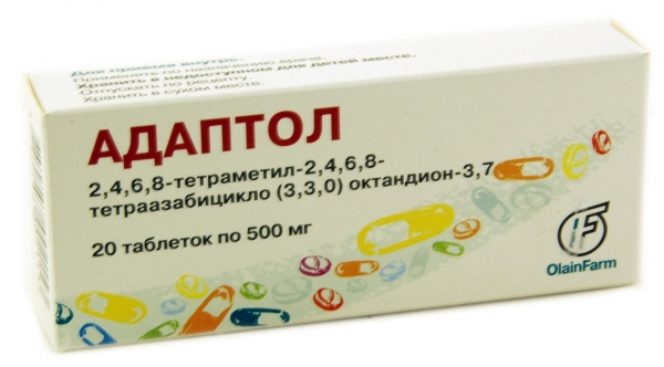 Адаптол: инструкция по применению таблеток и для чего они нужны, цена, отзывы, аналоги