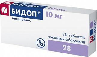 Инструкция по применению лекарства бидоп — при каком давлении и как принимать?