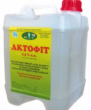 Инструкция по применению биопрепарата актофит