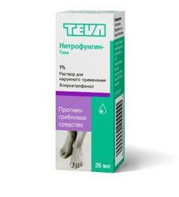 Нитрофунгин от грибка ногтей — эффект, отзывы и цена