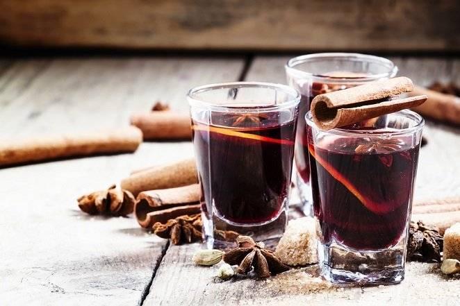 Как подогреть вино от кашля