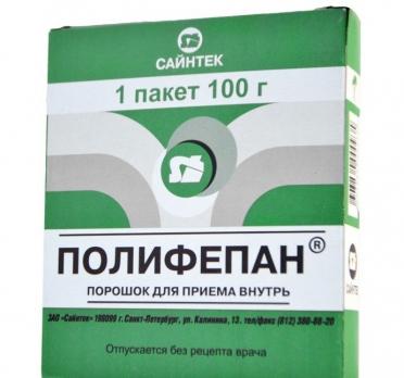 Полифепан для похудения - чистим организм от шлаков и токсинов