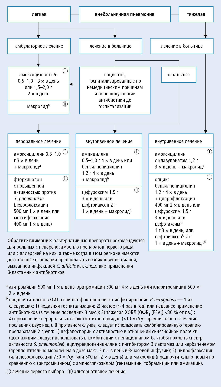 Пневмония — симптомы и первые признаки патологии