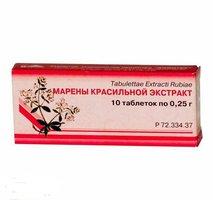 Марена красильная (таблетки): отзывы, использование и цена. инструкция по применению препарата