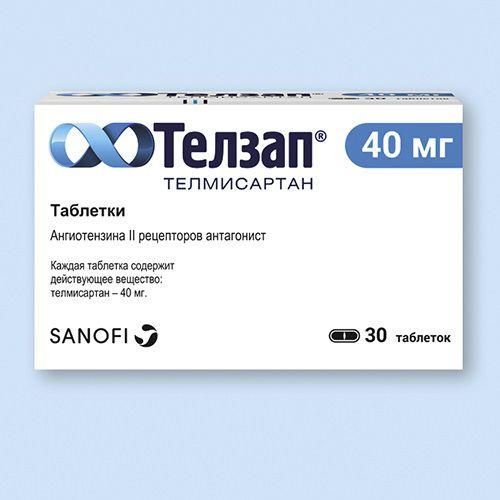 Препарат телзап 80: инструкция по применению