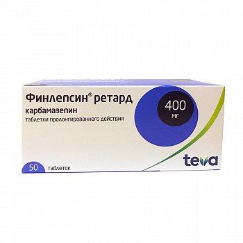 Таблетки 200 и 400 мг финлепсин (ретард): инструкция, цена и отзывы