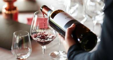 Горячее вино от сухого кашля