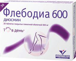 Флебодиа 600: особенности применения и побочные действия
