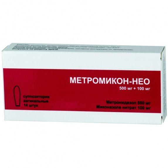 Инструкция по применению свечей метромикон нео - состав и показания