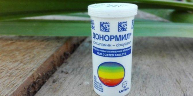 Таблетки донормил инструкция по применению — донормила смертельная доза