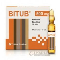 Лекарство от туберкулеза изониазид