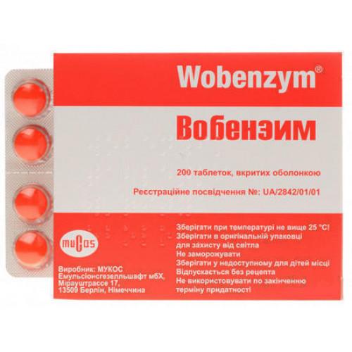 Вобэнзим – инструкция по применению в гинекологии и важные особенности