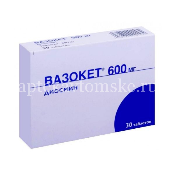 Все о препарате вазокет — состав, показания и противопоказания, аналоги и отзывы