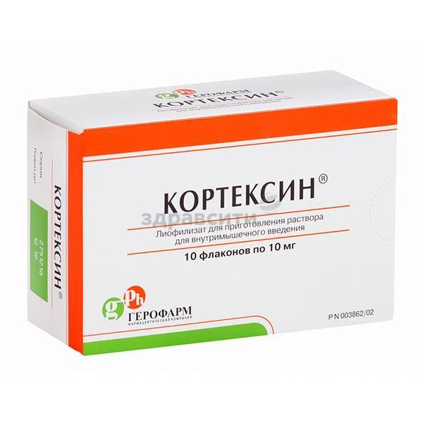 Инструкция по применению уколов кортексин