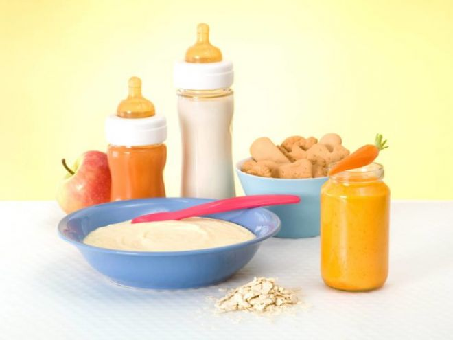 Необычная диета на детском питании