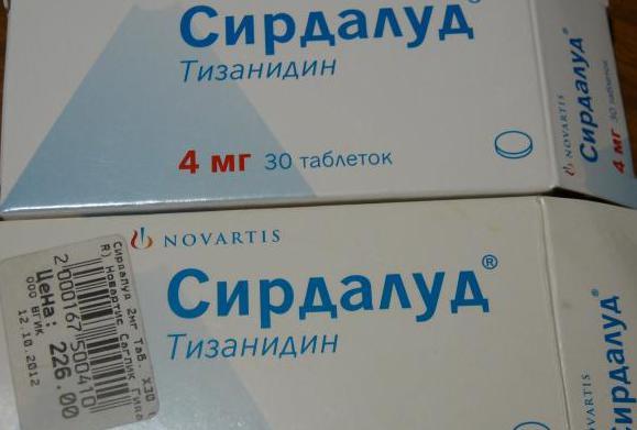 Таблетки сирдалуд: инструкция, отзывы и цены