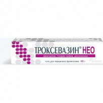 Троксевазин нео: инструкция по приему препарата