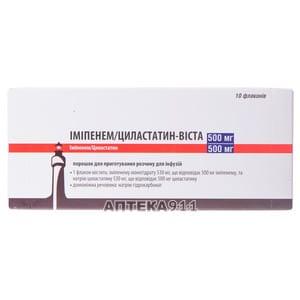 Имипенем циластатин: инструкция по применению, аналоги и цена