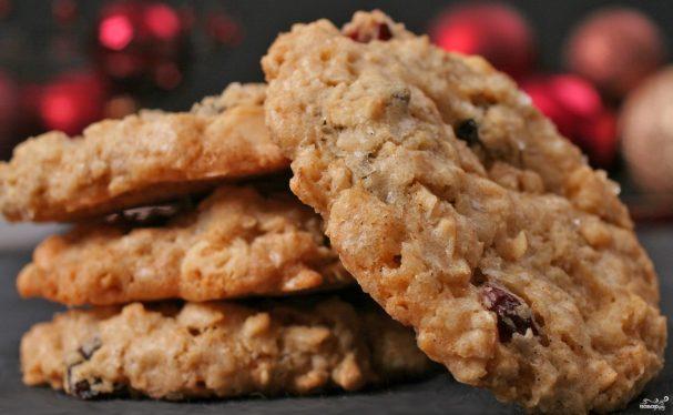 12 пп рецептов овсяного печенья: из хлопьев без муки, диетическое, с творогом, с бананом, на кефире