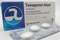 Тинидазол — от чего лечит, инструкция по применению, отзывы