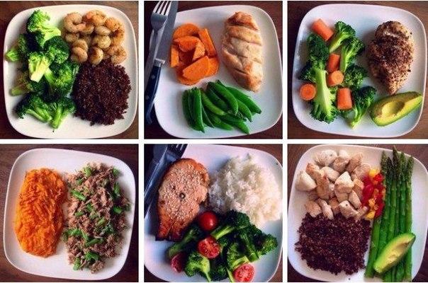 Меню правильного питания на каждый день для похудения с рецептами.