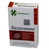 Применение вазаламина - инструкция, схема приема, реальные отзывы и цена
