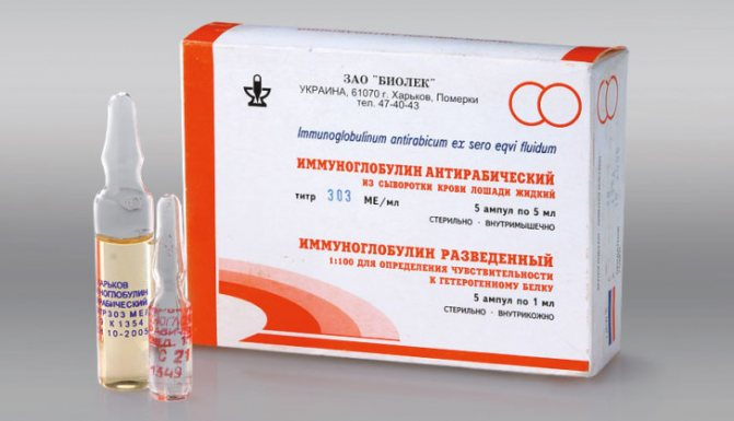 Иммуноглобулины в аптеках москвы