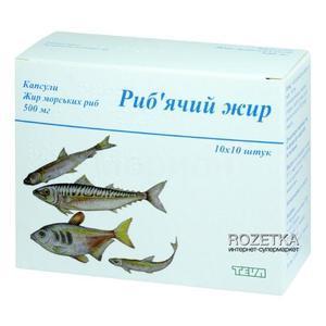 Омега-3 (омакор), рыбий жир (атх c10ax06)