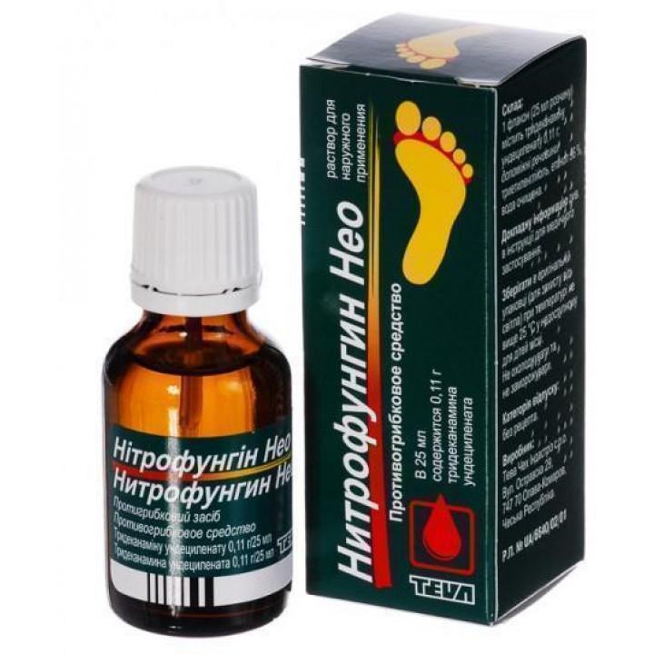 Особенности состава и использования в дерматологии препарата нитрофунгин
