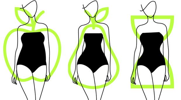 Типы женских фигур – яблоко, груша, прямоугольник, треугольник, песочные часы, как одеваться и что носить?
