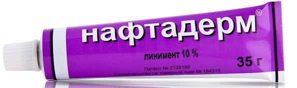 Как применять нафтадерм мазь для лечения псориаза