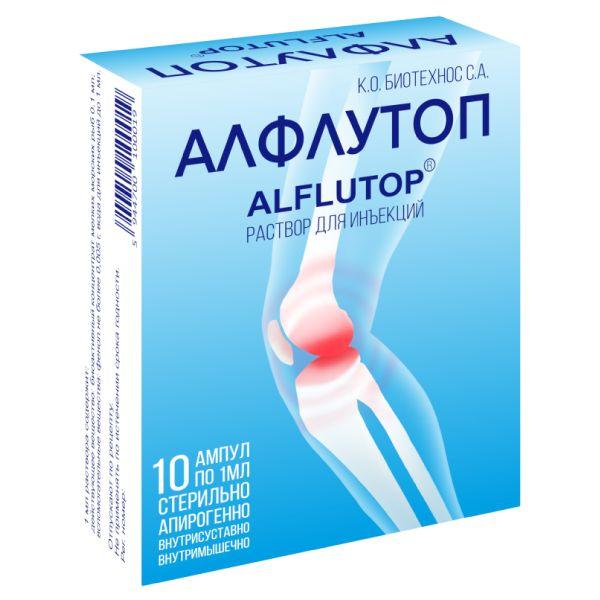 Уколы алфлутоп: все о правильном приеме лекарственного средства