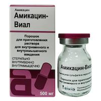 Амикацин уколы