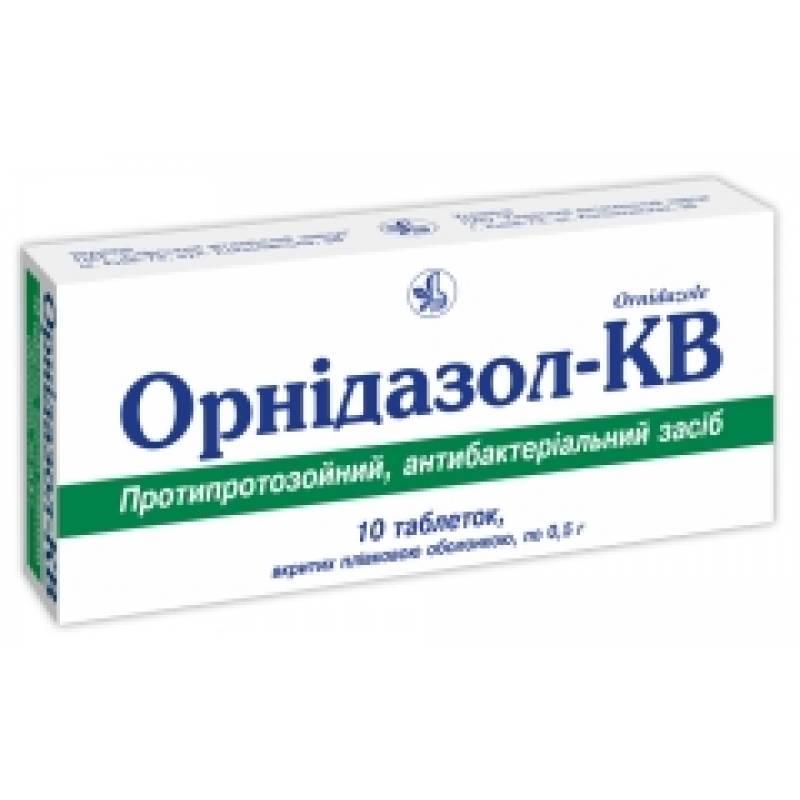 Орнидазол – инструкция по применению таблеток, цена, отзывы, аналоги