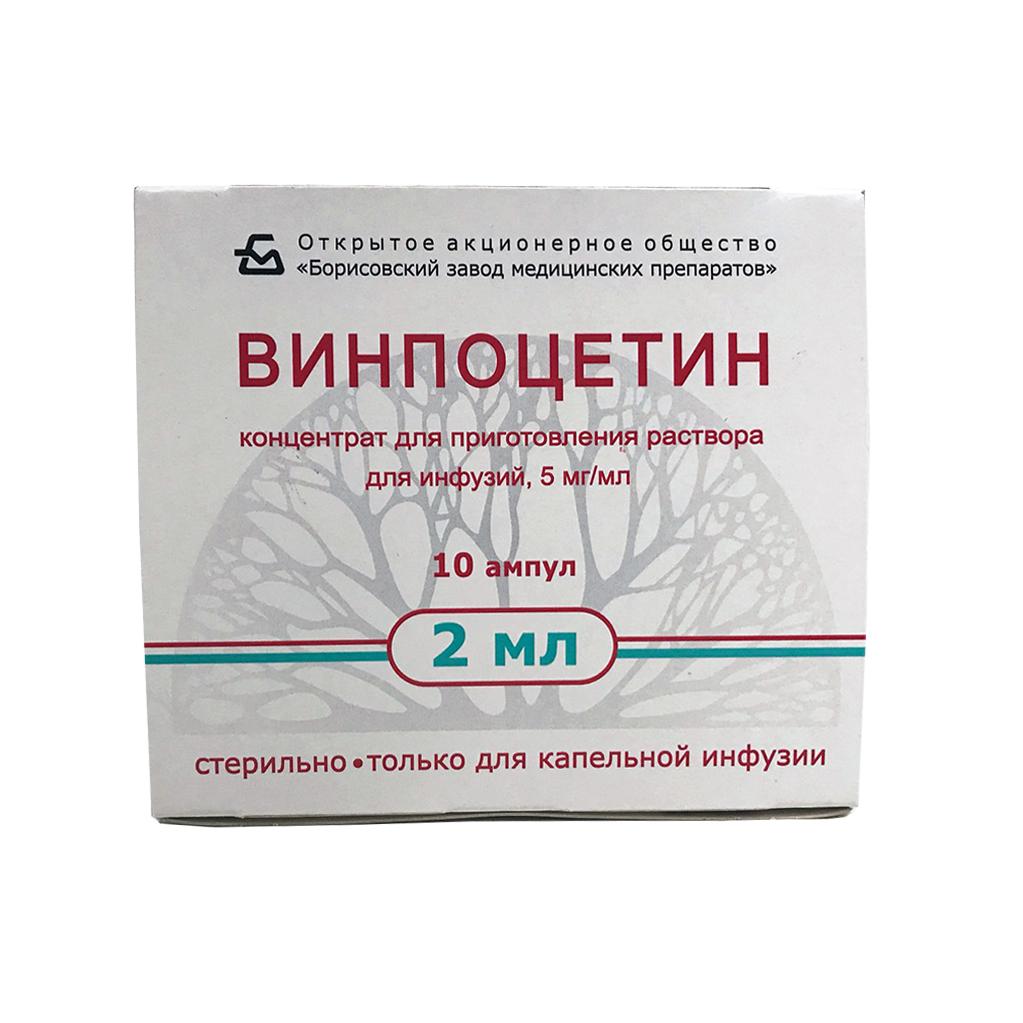 Винпоцетин — инструкция по применению, отзывы