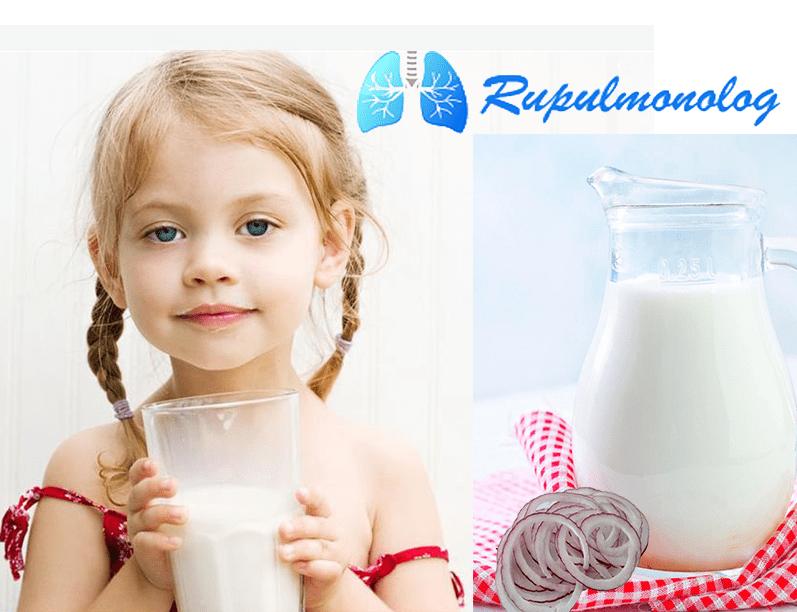 Молоко с медом от кашля: рецепт народного средства для лечения ребенка и взрослого