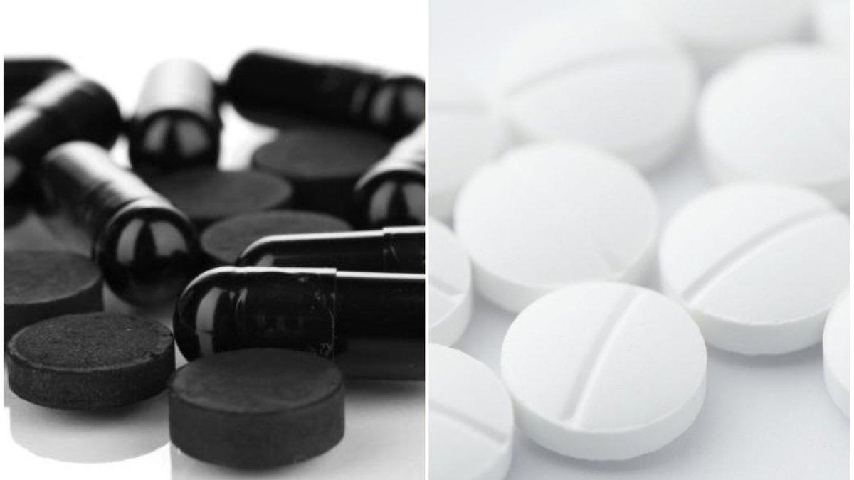 Белый уголь: таблетки