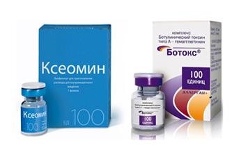 Ксеомин или ботокс — альтернатива инъекции диспорт