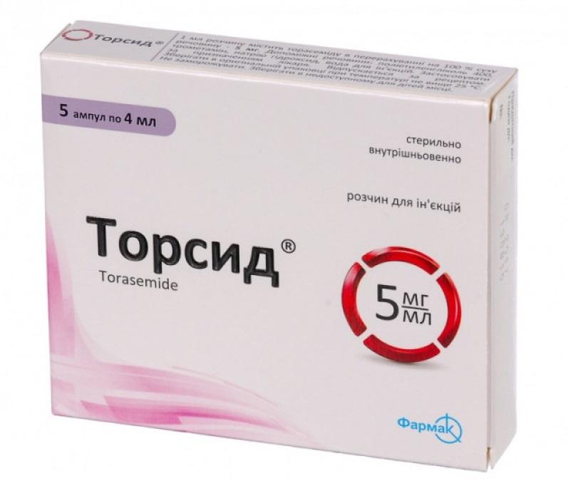 Торсид: состав, свойства, показания и противопоказания, дозировка