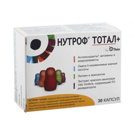 Витамины для зрения нутроф тотал и аналоги